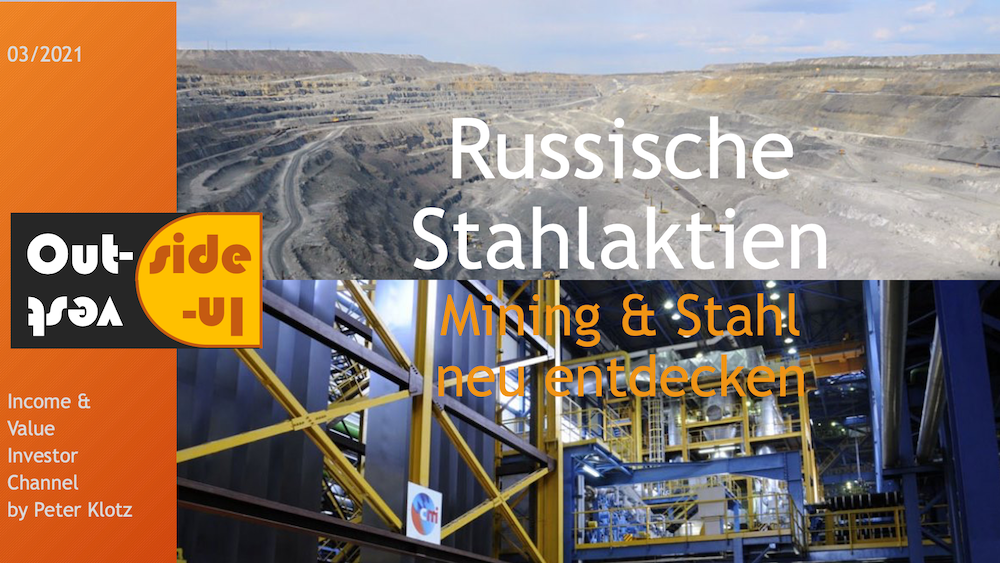 Russian mining & steel stock