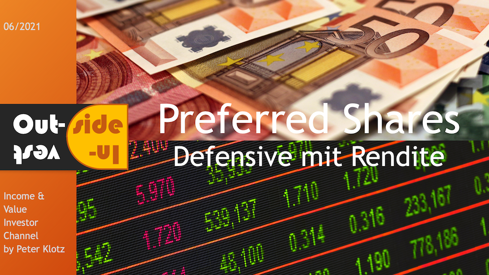Preferred shares - defensive with yield